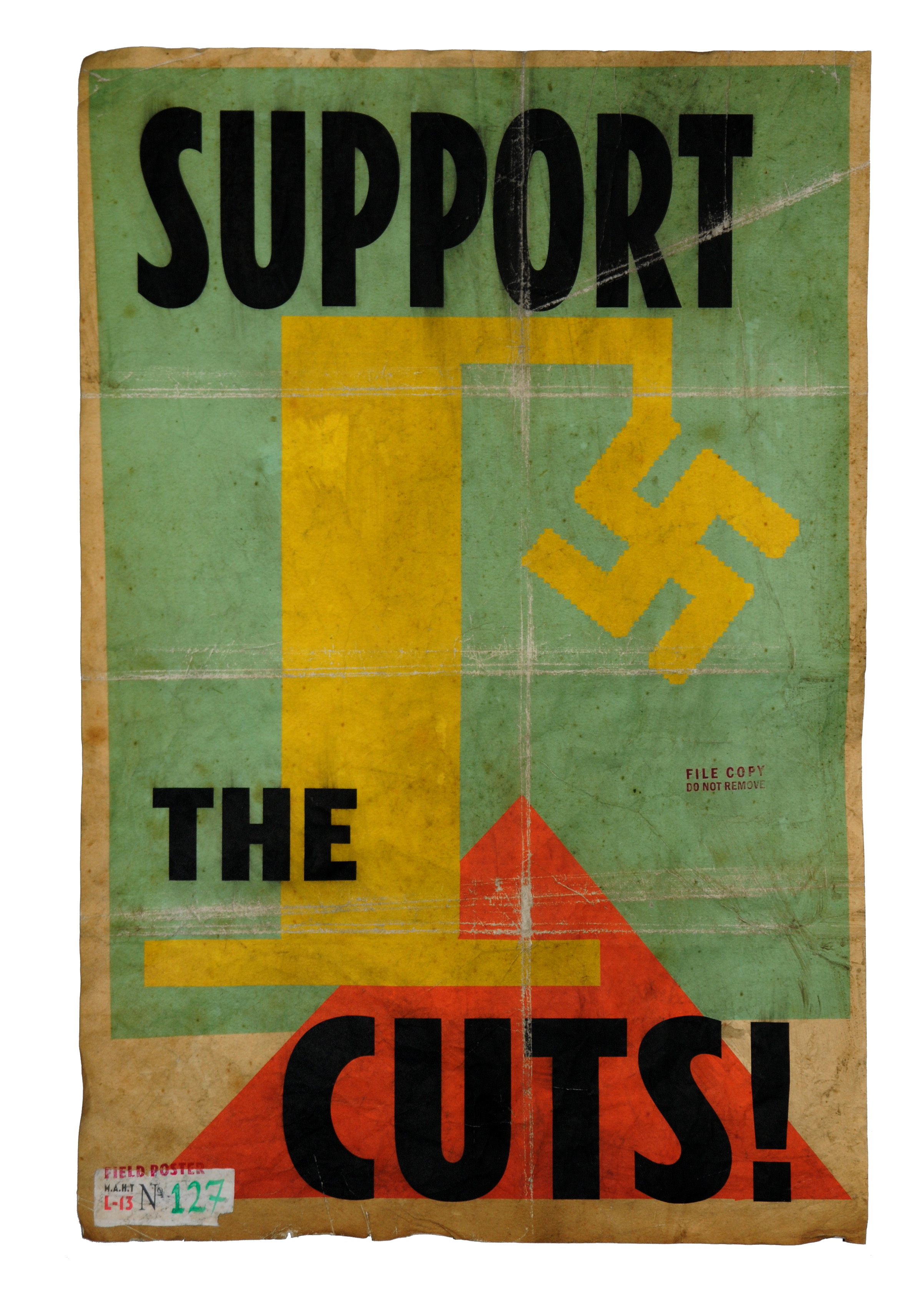 Billy Childish and Harry Adams – Support The Cuts